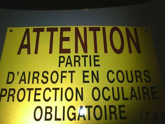 Panneaux signalisation de parties 2012-016