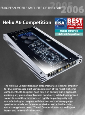 Helix A6 Competition power Amp ((SOLD)) A6_1010