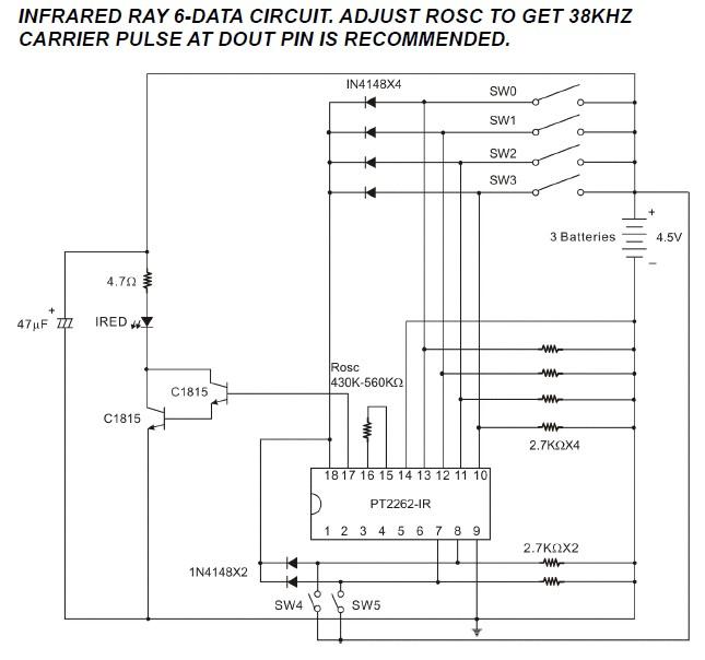 [Réalisation] télécommande infrarouge avec codeur/décodeurs PT2262/PT2272 Emissi11
