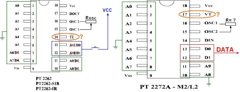 [Réalisation] télécommande infrarouge avec codeur/décodeurs PT2262/PT2272 Raf_pr11