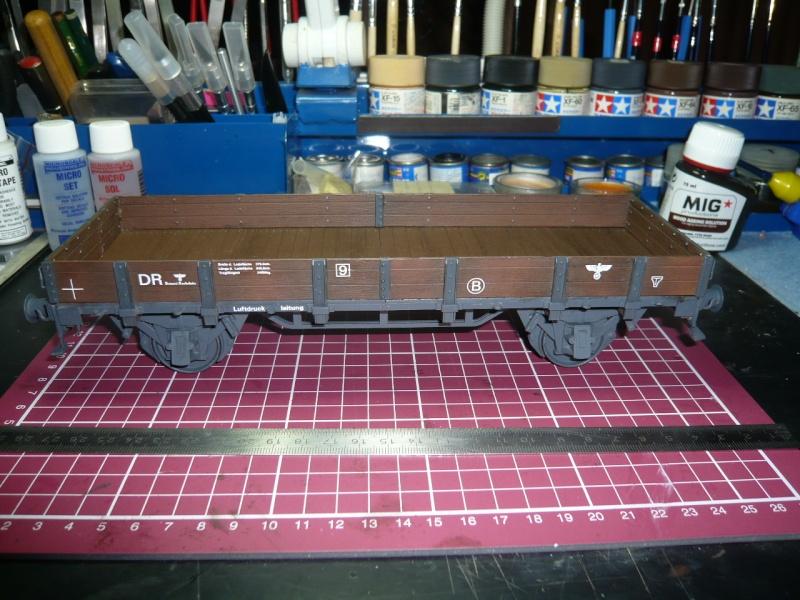 BR86 mit Mörser Thor eisenbahnverlastet und Railway Gondola, als Dio P1030633