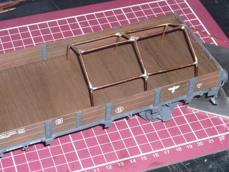 BR86 mit Mörser Thor eisenbahnverlastet und Railway Gondola, als Dio P1030649