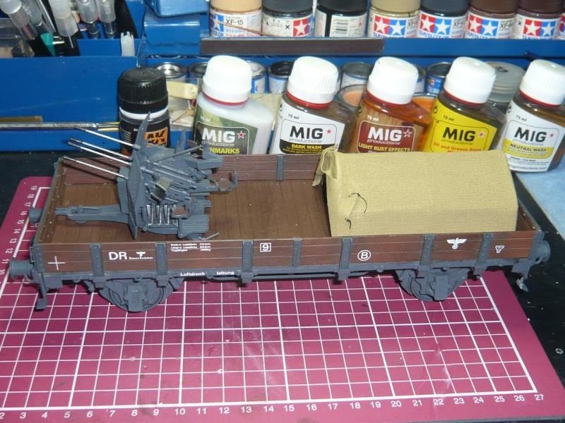 BR86 mit Mörser Thor eisenbahnverlastet und Railway Gondola, als Dio P1030719