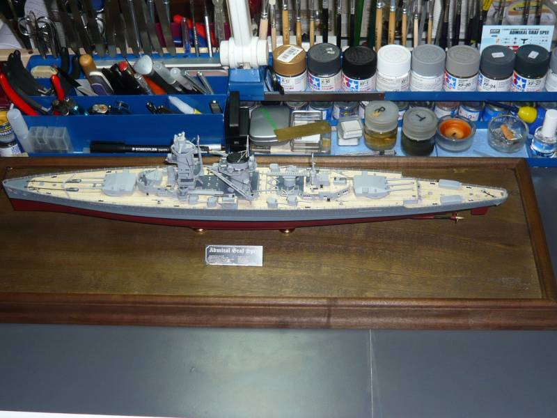 Admiral Graf Spee Premium Edition von Academy 1/350 +Zubehör FERTIG - Seite 2 P1040010