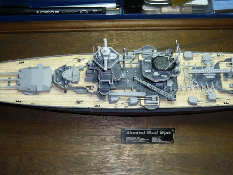 Admiral Graf Spee Premium Edition von Academy 1/350 +Zubehör FERTIG - Seite 2 P1040610