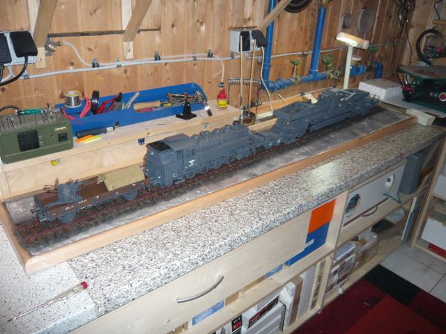 BR86 mit Mörser Thor eisenbahnverlastet und Railway Gondola, als Dio - Seite 3 P1040613