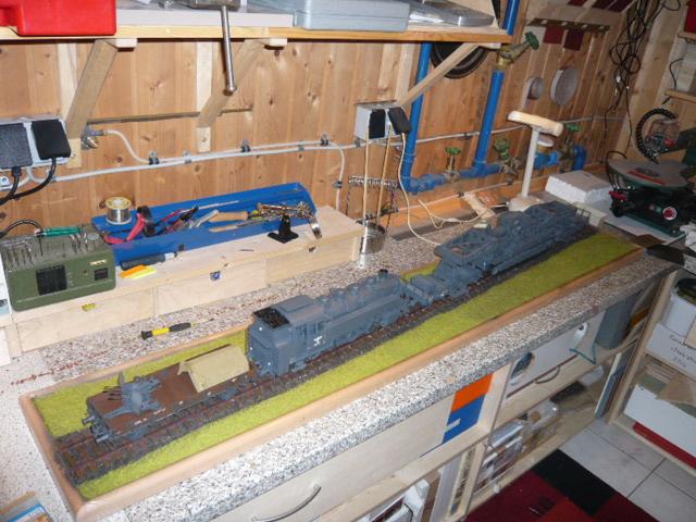 BR86 mit Mörser Thor eisenbahnverlastet und Railway Gondola, als Dio - Seite 3 P1040618