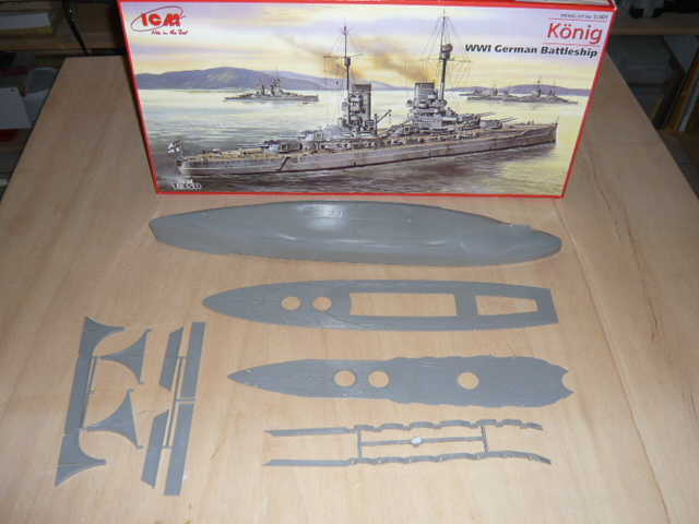 SMS König 1:350 ICM plus Upgrade Set P1040621
