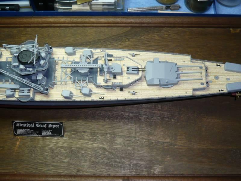 Admiral Graf Spee Premium Edition von Academy 1/350 +Zubehör FERTIG - Seite 2 P1040710