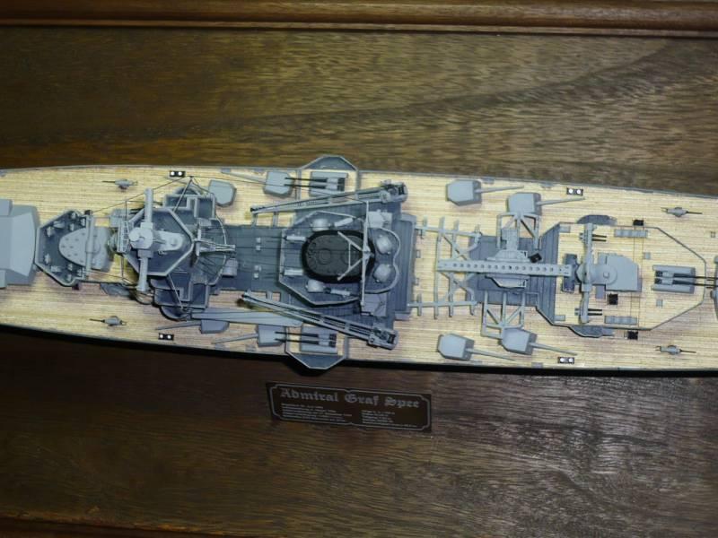 Admiral Graf Spee Premium Edition von Academy 1/350 +Zubehör FERTIG - Seite 2 P1041010