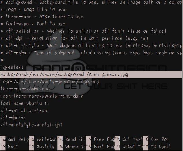 Cara Mengganti Background Login di Ubuntu 11.10 Edit10