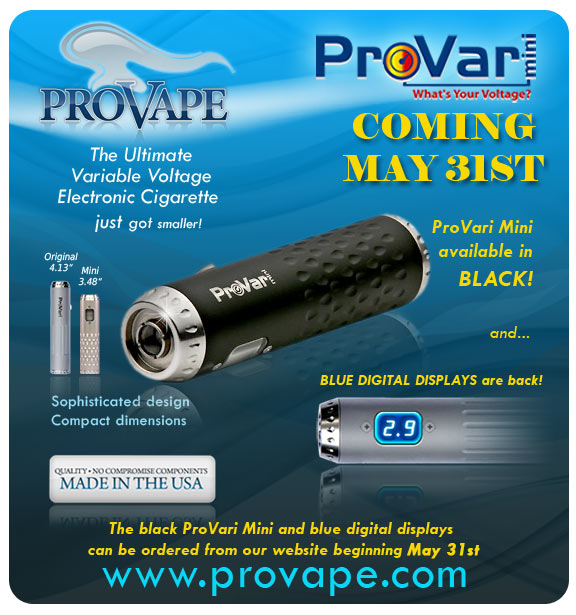 The Black PROVARY MINI Coming to CEV  Blackm11