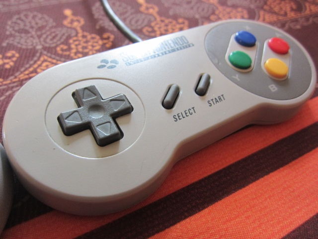 Manette Super Nintendo pour Wii Img_0518