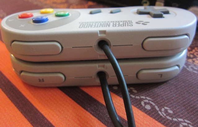 Manette Super Nintendo pour Wii Img_0522