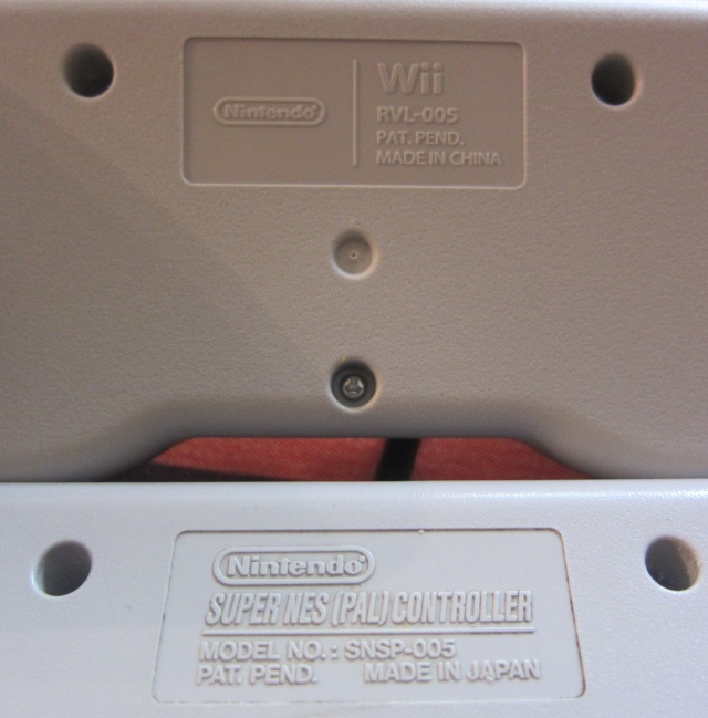 Manette Super Nintendo pour Wii Img_0523