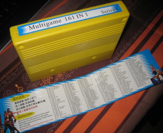 Liste des jeux présent sur la cartouche MVS 120 in 1 - Page 2 Multig10
