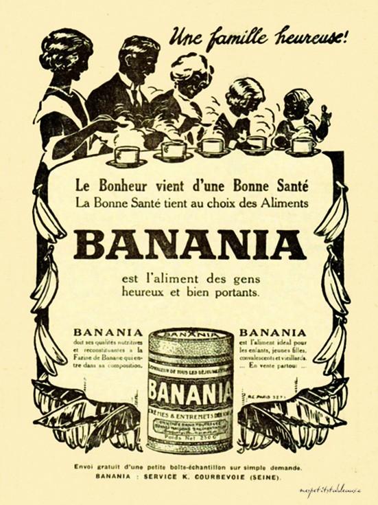 Les affiches du temps passé quand la pub s'appelait réclame .. - Page 38 Banani10