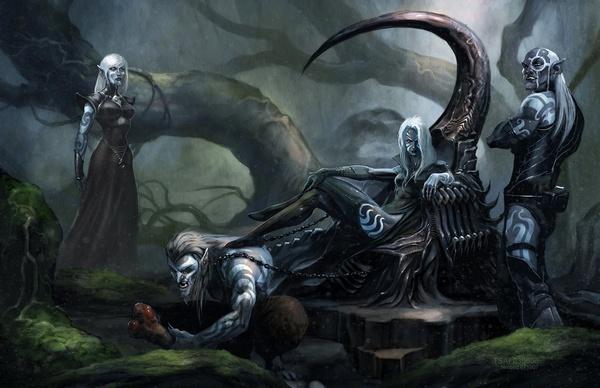 Recueil des Elfes Noirs ~ Royaume de Sylvorn Drows-10