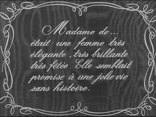 Madame de... film de Max Ophüls 1953 Madame10