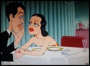 Hollywood steps out cartoon de Tex Avery 1941 Tumblr13