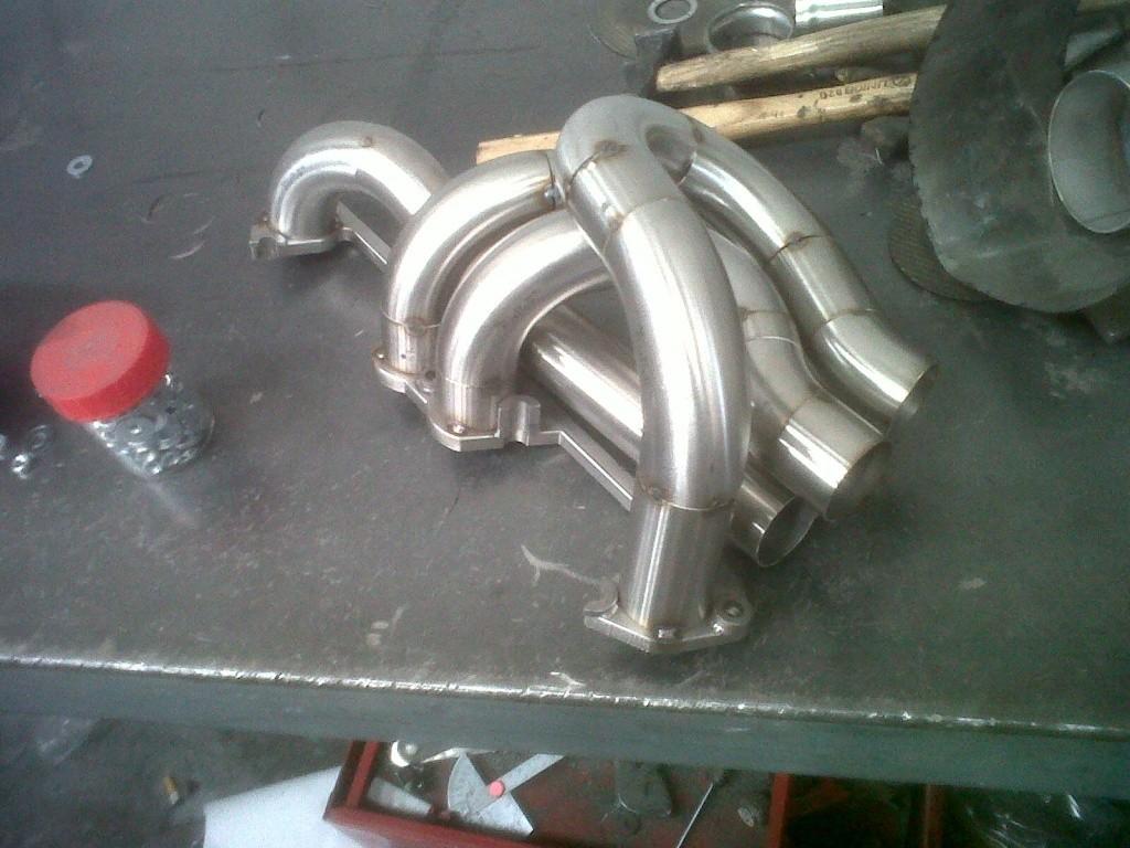 Collecteur d'echappement Fiat 1.4 turbo Img00610
