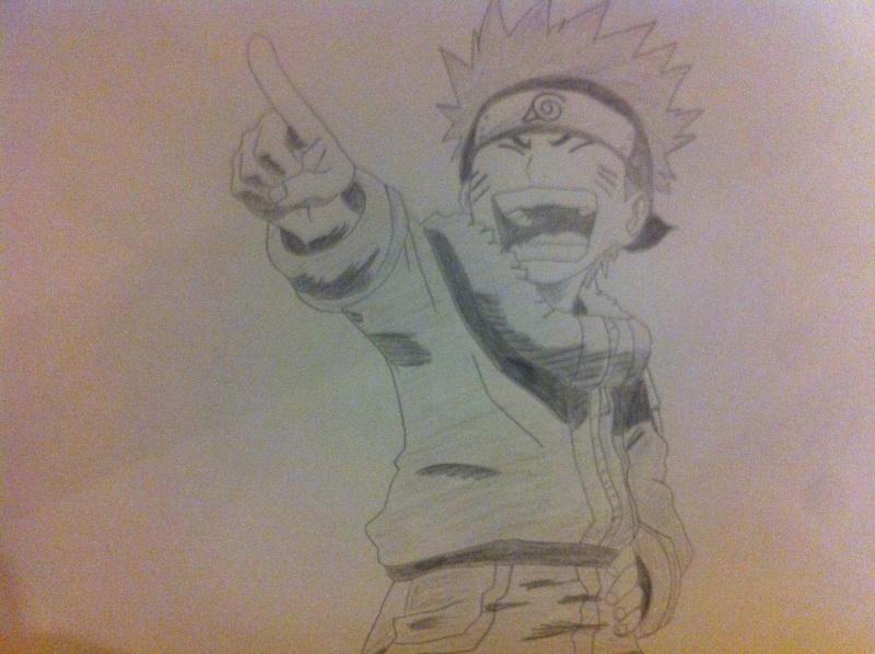 Un dessin Manga Naruto11