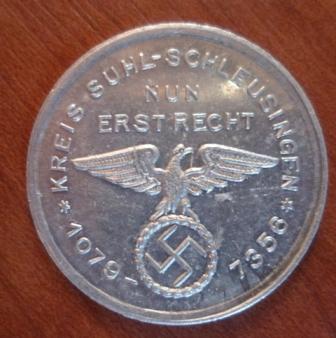 médaille allemande 0211