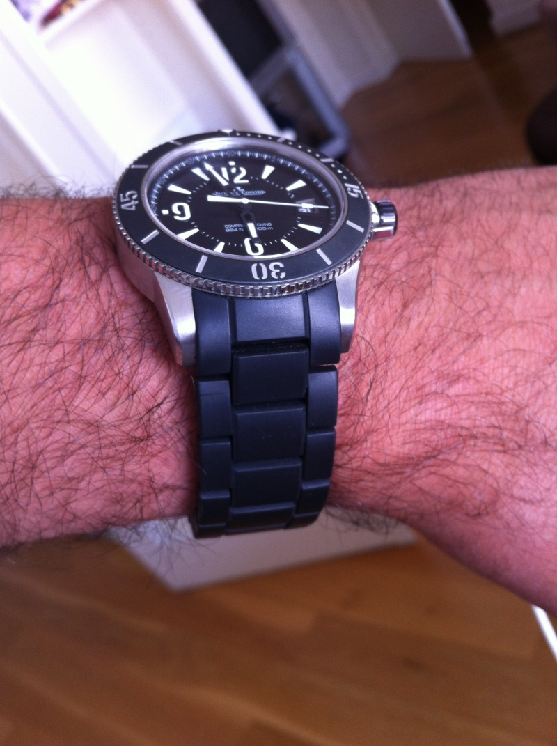 Jaeger LeCoultre Compressor Diving GMT Iphone10