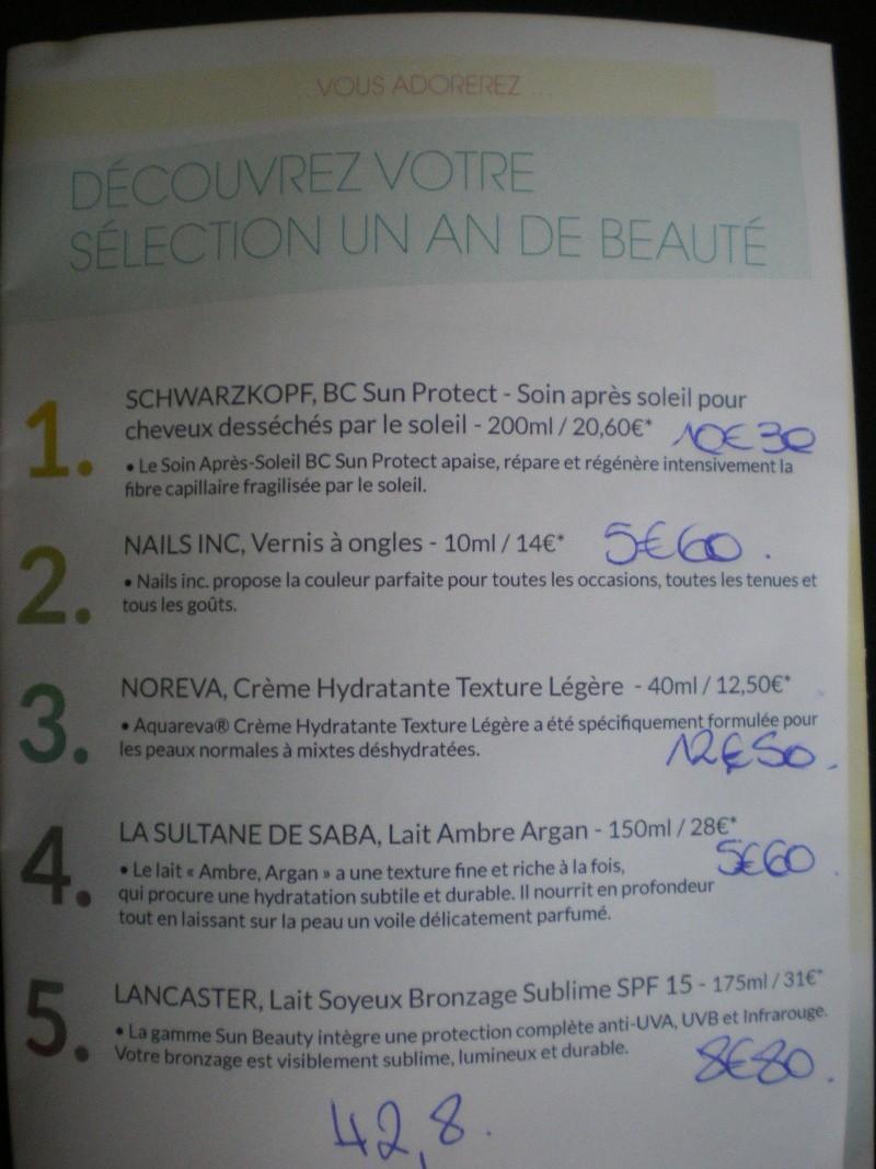 """[Juin 2012] Glossybox """"Un An De Beauté"""" Imgp0016"""