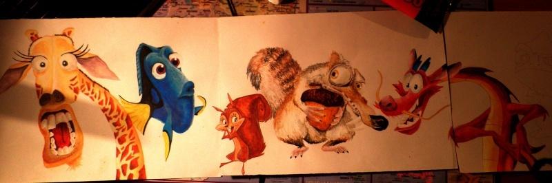 Frise Personnage dessin animé par Bullerougie 7_02_212