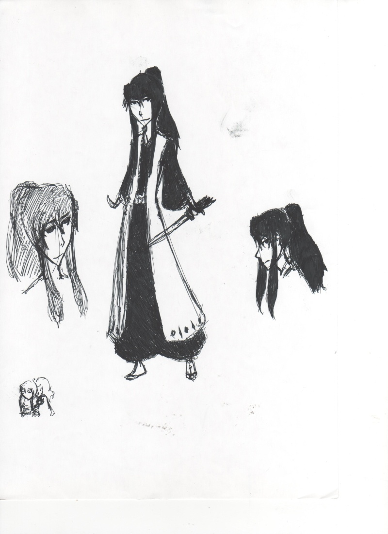 Some Yumichika fanart, done by me. Oh, and there's Yachiru, too! Captai10
