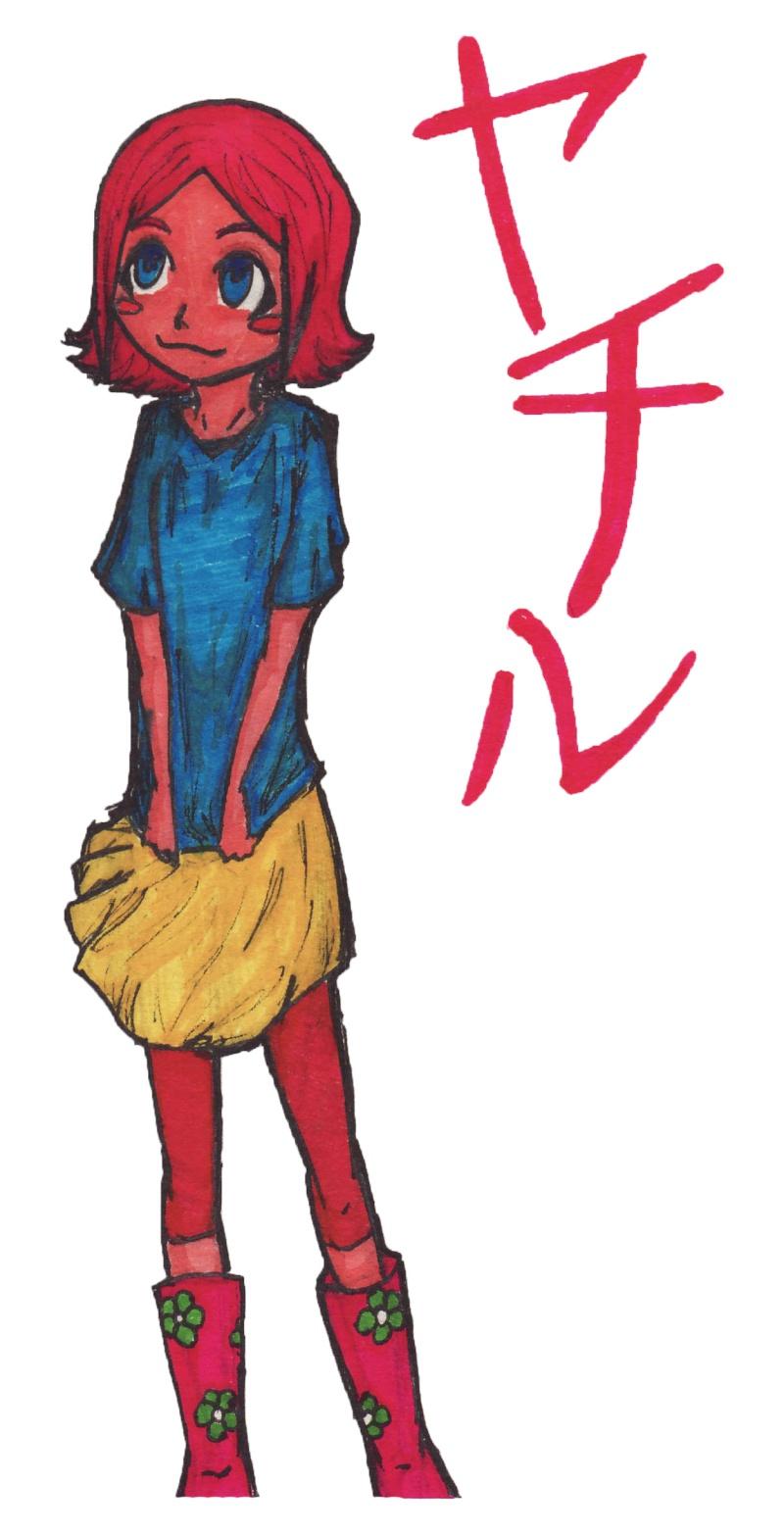 Some Yumichika fanart, done by me. Oh, and there's Yachiru, too! Yachir10