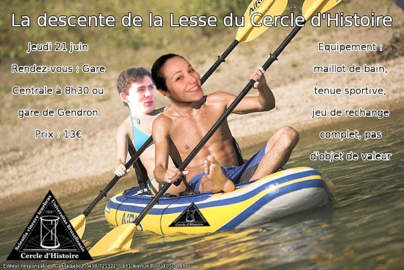 Descente de la Lesse - 25 juin Lesse10