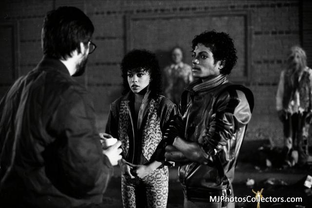 THRILLER em black and white Michae23