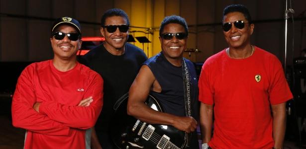 Com hits do Jackson Five, irmãos de Michael Jackson começam turnê nesta quarta (20) The-ja10
