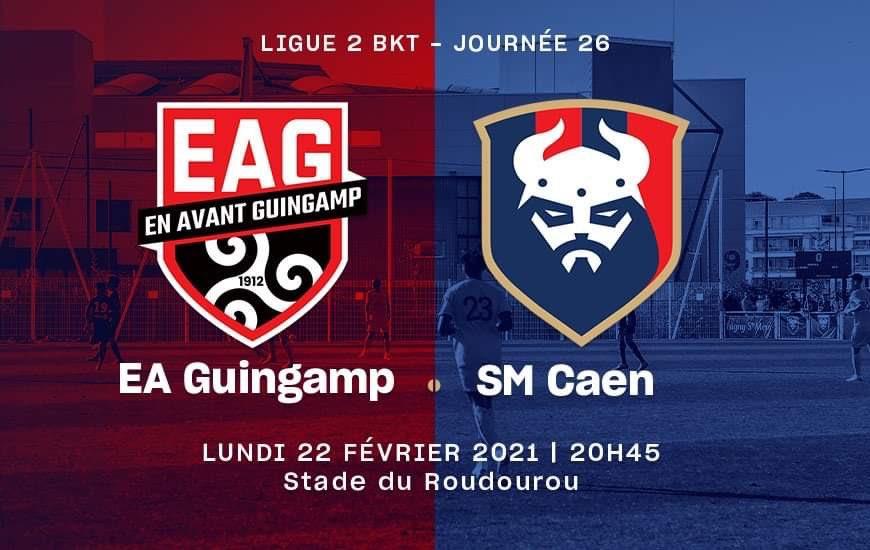 [26e journée de L2] EA Guingamp - SM Caen 09996f10
