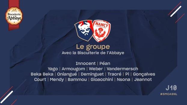 [10e journée de L2] SM Caen - AS Nancy Lorraine 16a17b10