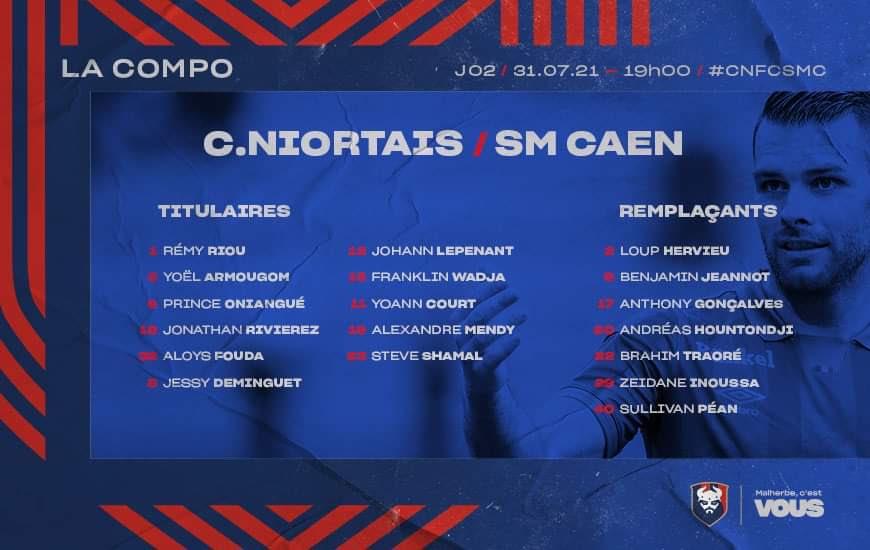 [2e journée Ligue 2 BKT] Niort - SM Caen 2b51a410