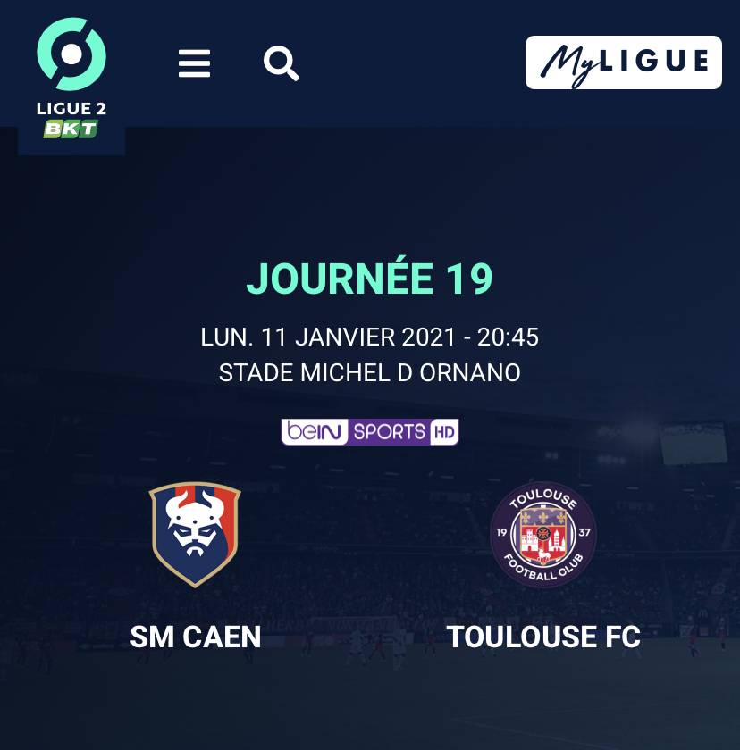 [19e journée de L2] SM Caen - Toulouse FC 35b6a910