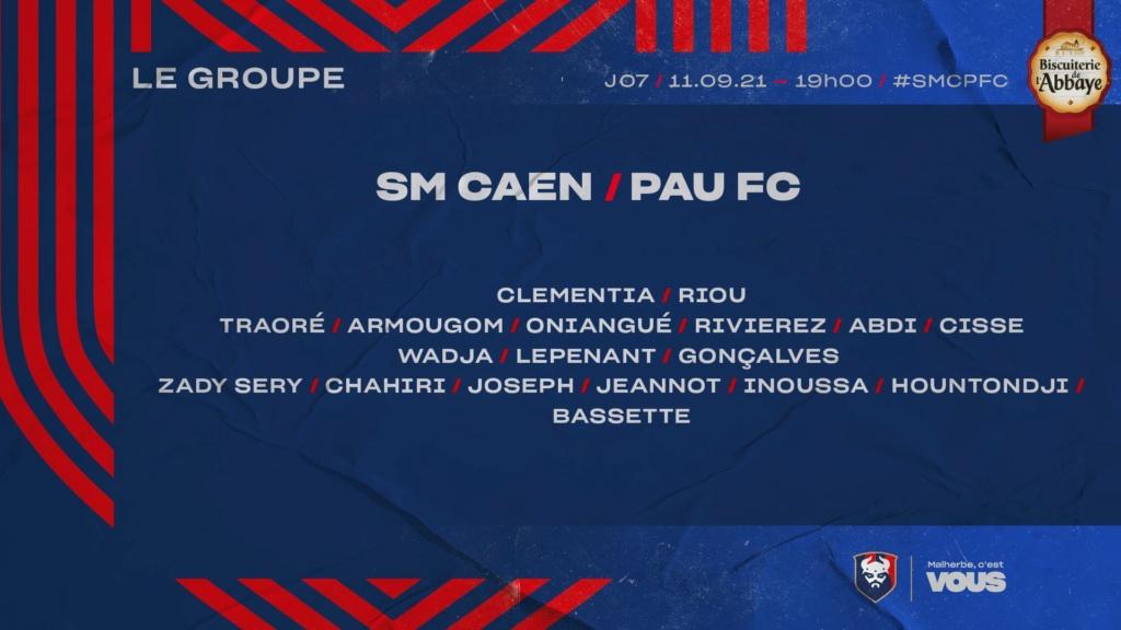 [7è journée de Ligue 2] SM Caen - Pau FC 3de1e010