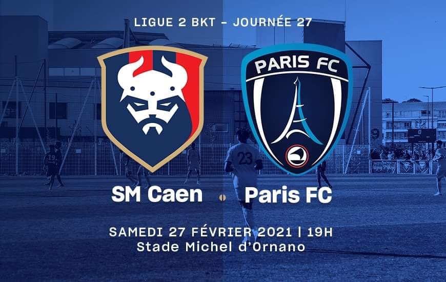 [27e journée de L2] SM Caen - Paris FC 44be8910