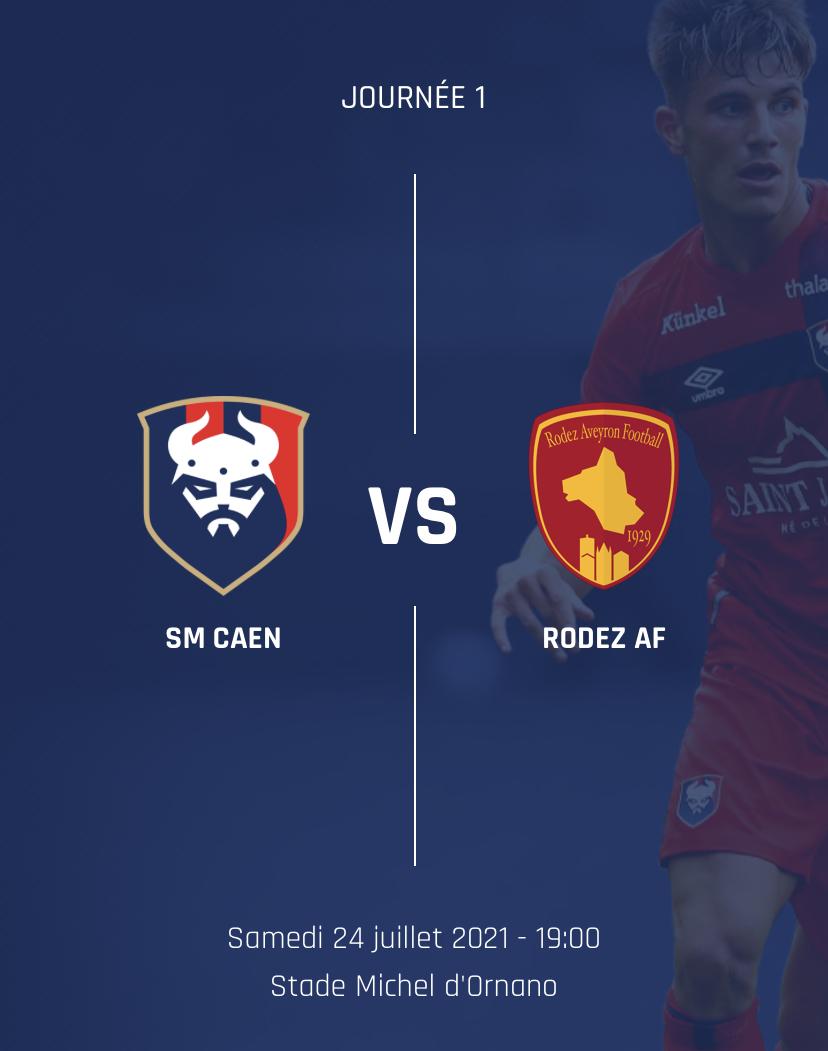 [1ère journée L2 BKT] SM Caen - Rodez 452d6c10