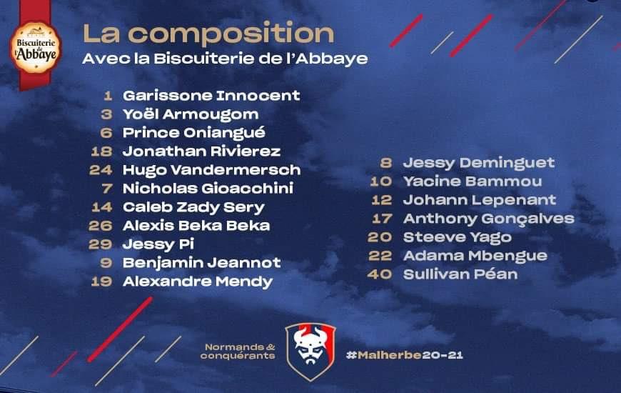 [22e journée de L2] FC Chambly - SM Caen 51dcb810