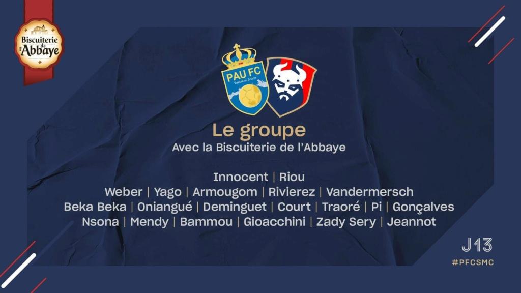 [13e journée de L2] Pau FC - SM Caen 57d99810