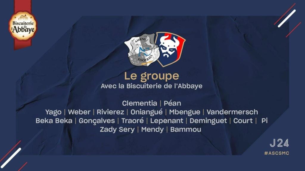 [24e journée de L2] Amiens SC - SM Caen 5ebfc310