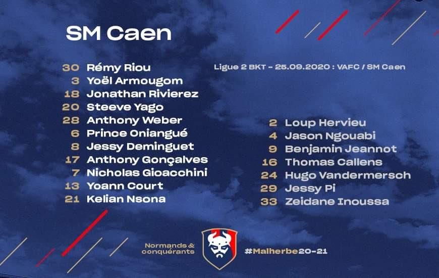 [5e journée de L2] Valenciennes FC - SM Caen 675cc610