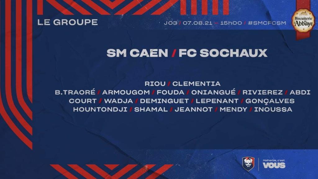 [3e journée Ligue 2 BKT] SM Caen - Sochaux 7cd2a610