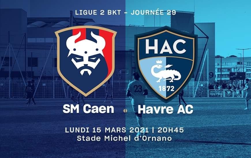 [29e journée de L2]  SM Caen - Havre AC 81849010