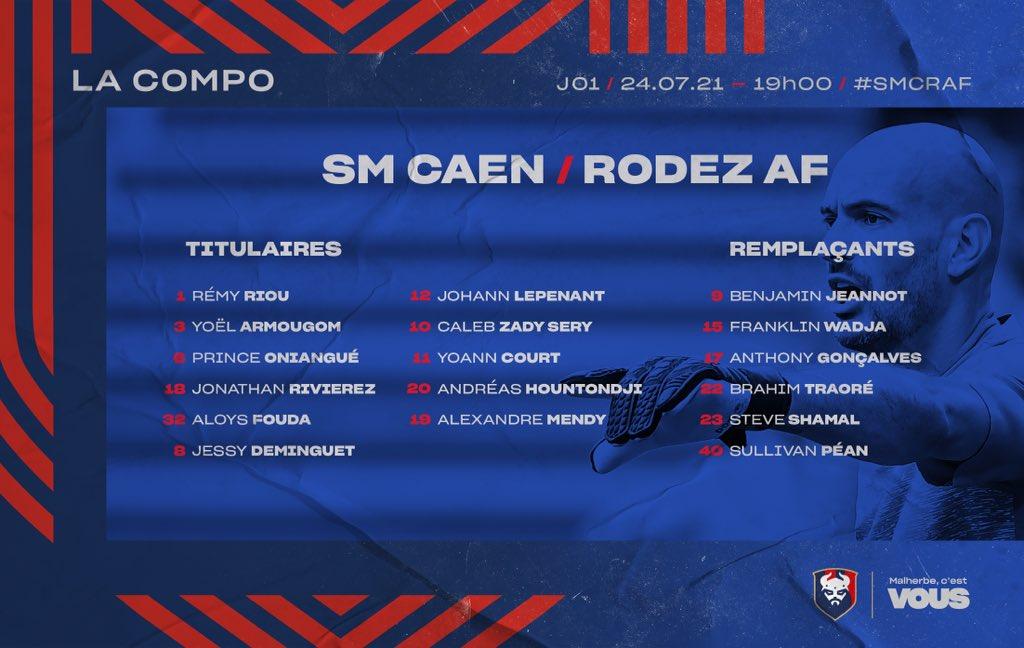 [1ère journée L2 BKT] SM Caen - Rodez 822a3010