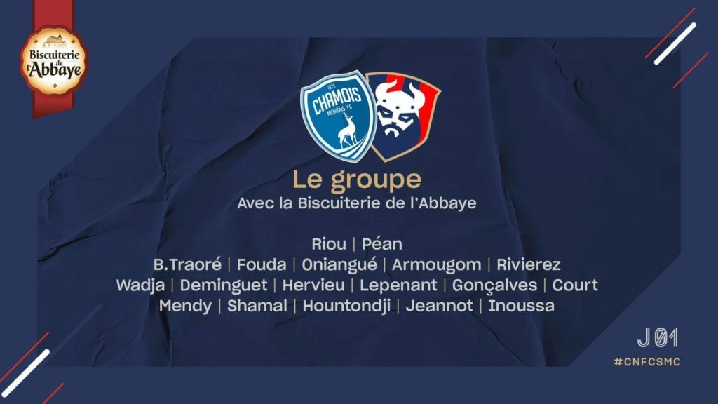 [2e journée Ligue 2 BKT] Niort - SM Caen 95905b10